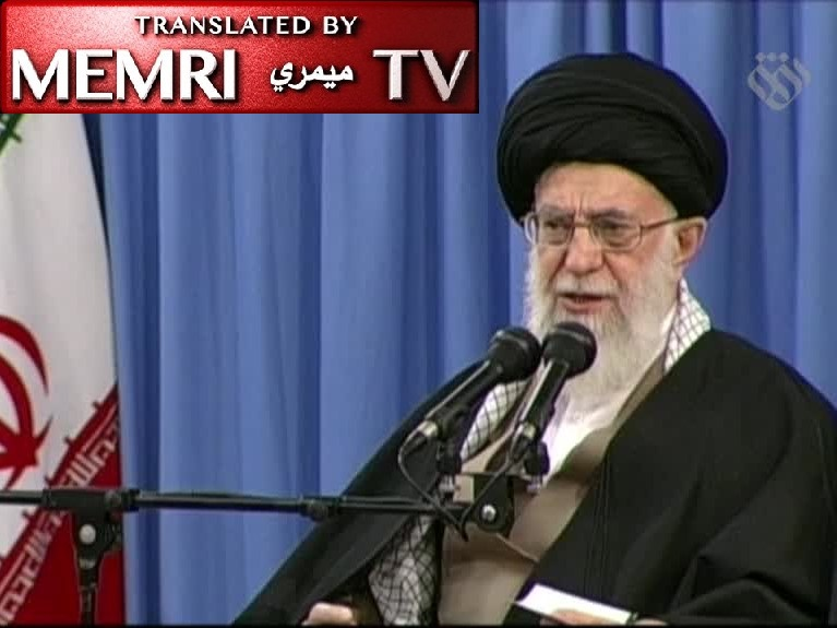 Iranian Leader Ali Khamenei: America and the West Will Hit Rock Bottom Like Saddam Did; American Officials Are Idiots and Clowns